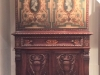 1920's Carved Walnut Cabinet