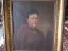 Antique Oil on Canvas- Lady Portrait