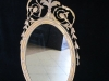 Antique Oval Eagle Mirror