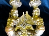 Antique Figural Giltwood Sconce