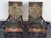 1900 Tapestry Covered Hall Chairs
