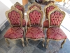 Hand Carved Italian Chairs
