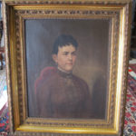Antique Oil on Canvas- Lady Portrait