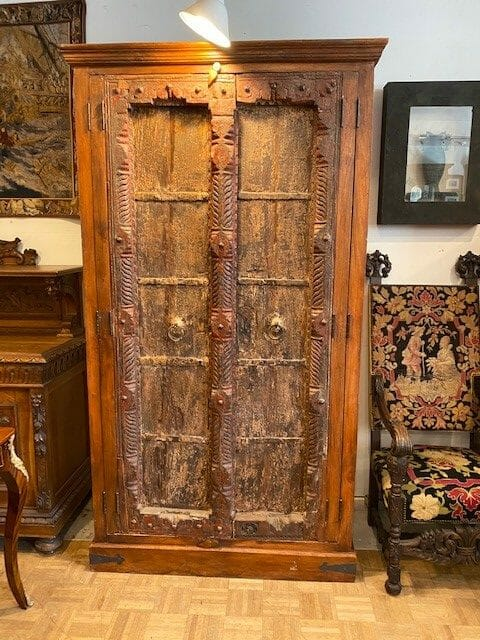 Old World Cabinet With Antique Doors Antique Store San Diego
